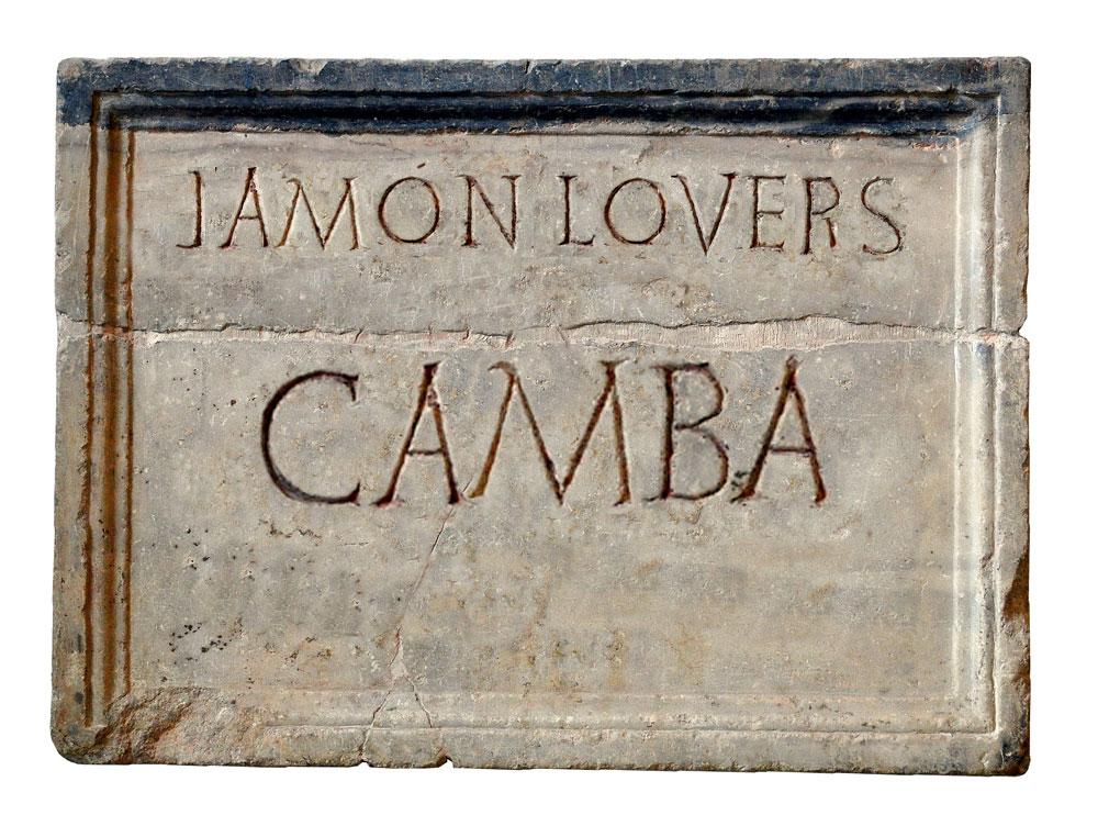 Camba, el origen de la palabra jamón