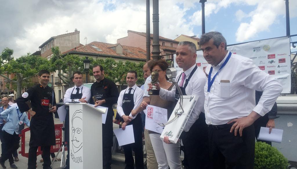 Entrega de Premios Concurso de Cortadores de Jamón Alcalá de Henares