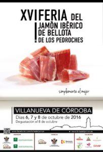 La XVI Feria del jamon iberico de bellota de Los Pedroches