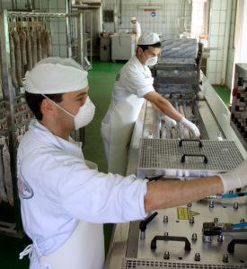 Planta de elaboración de Jamón Ibérico en La Alberca
