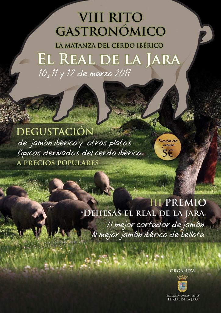 VIII edición del Rito Gastronómico de la Matanza del Cerdo Ibérico Real de la Jara