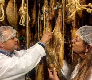 La Cala, Selección de un jamón ibérico por Anselmo Pérez