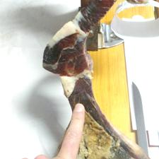 Cómo cortar una paletilla: El corte de la paleta.
