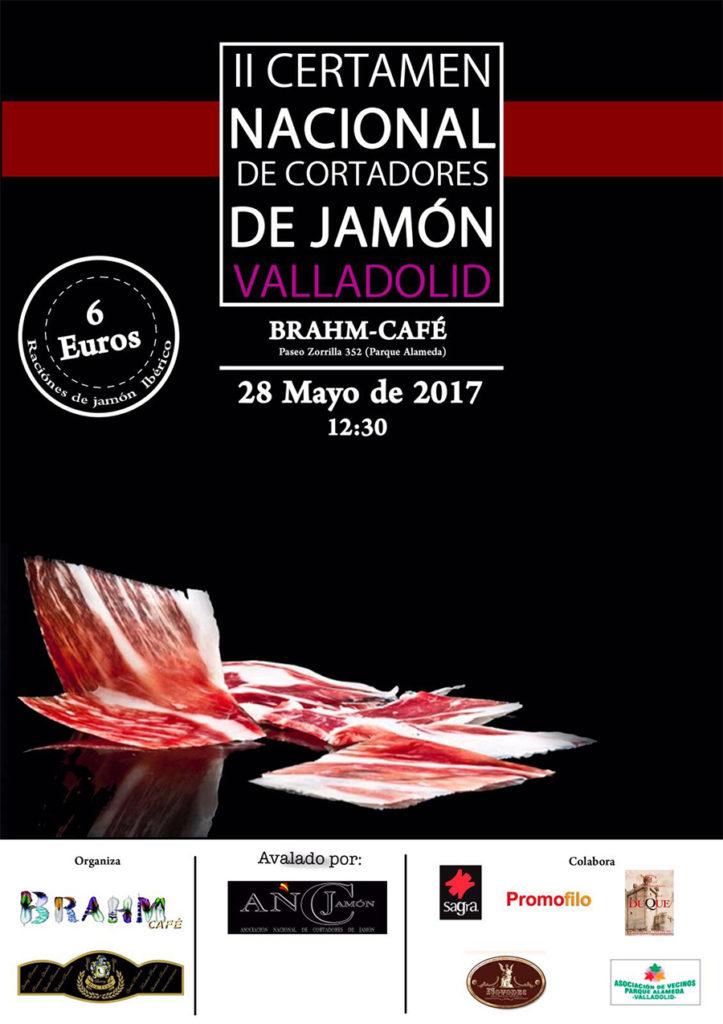 II Certamen Nacional de Cortadores de Jamón Valladolid Brahm Café