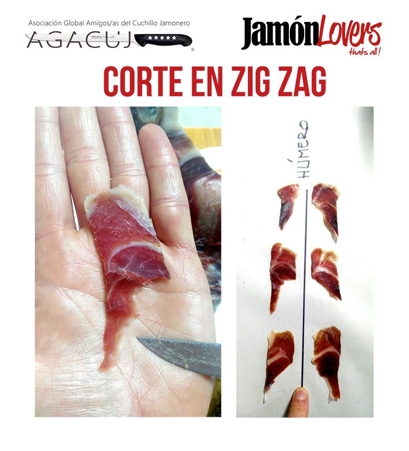 Cómo cortar una paletilla: corte en Zig Zag, el corte de la paleta