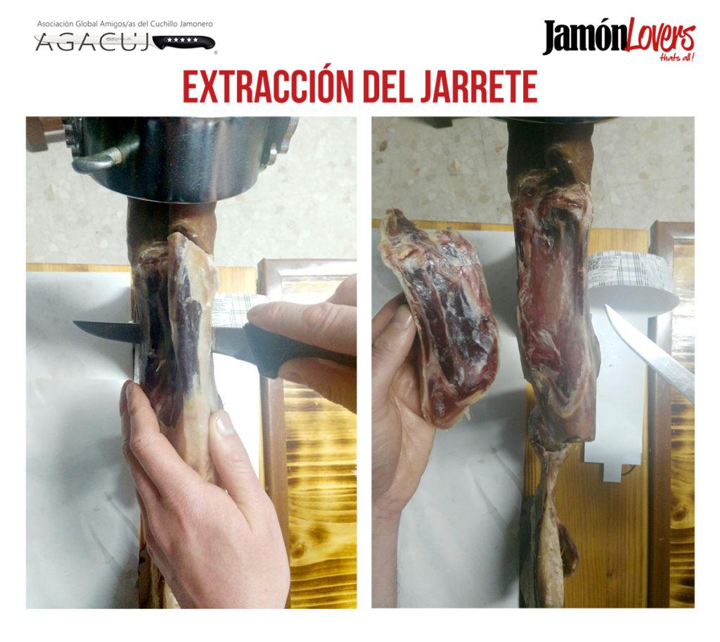 Cómo cortar una paletilla: Extracción del jarrete. El corte de la paleta.