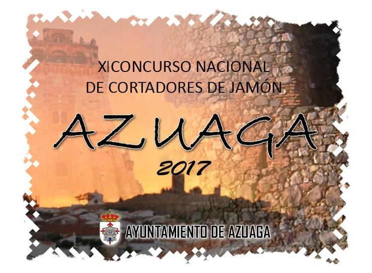 XI Concurso Nacional de cortadores de jamón de Azuaga