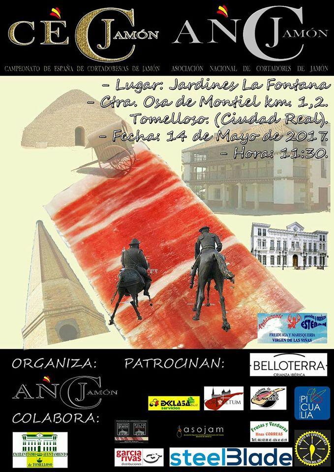 Final Campeonato de España de Cortadores de Jamón 2017 en Tomelloso