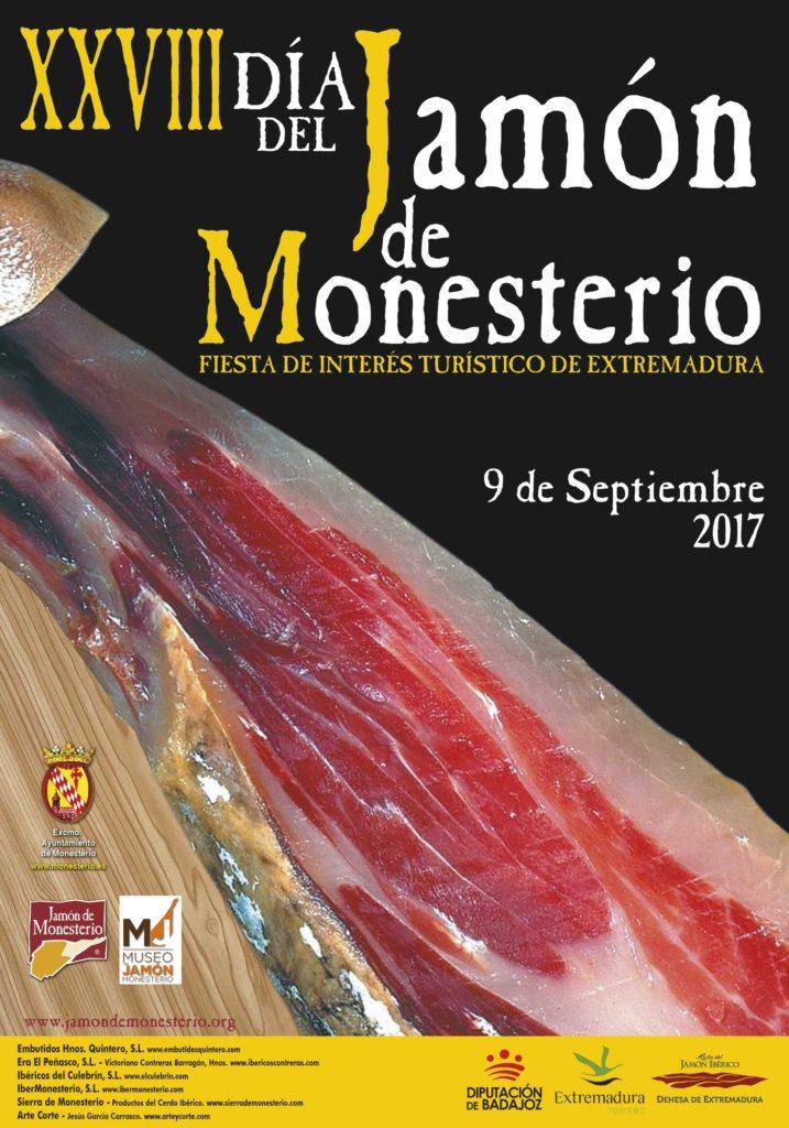 El día 9 de Septiembre tendrá lugar el Día del Jamón en Monesterio