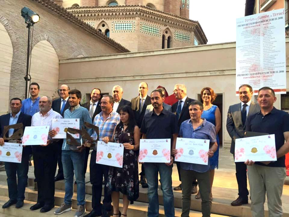 Concurso de Calidad de Jamón de Teruel DOP 2016