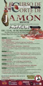 4ª edición del Curso de corte de jamón benéfico organizado por la Asociación Reyes Magos de Chiclana y Agacuj