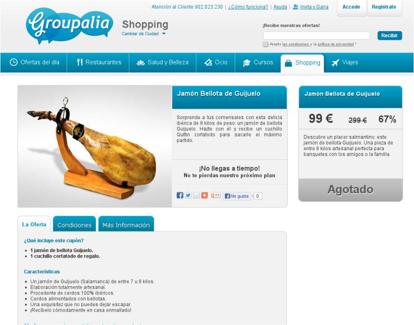 Oferta Groupalia