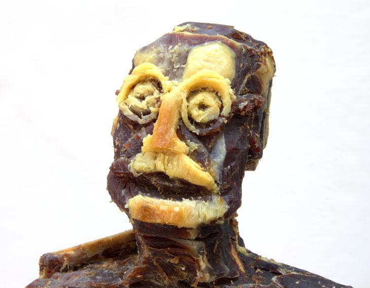 Comida cuqui fail: El tópic de los horrores fotogénicos culinarios - Página 9 Jamon-iberico-escultura-1