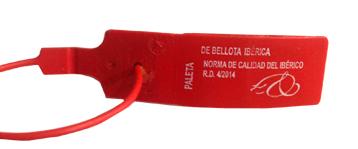 Precinto rojo: Jamón de Bellota Ibérico
