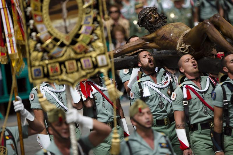 Procesión de los Legionarios, Málaga