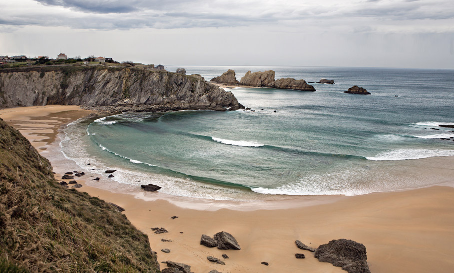 Playa-Covachos-Santander