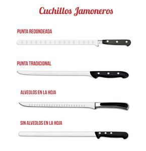 Diferencias Cuchillos Jamoneros