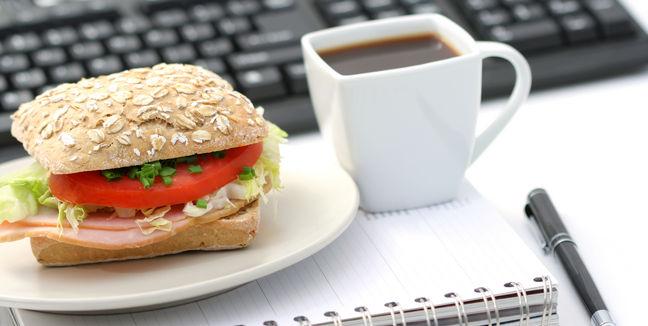 10 consejos para comer en la oficina