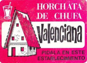 Anuncio Horchata