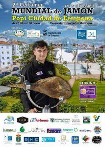 II Certamen Mundial de Jamón 'Popi Ciudad de Estepona'.