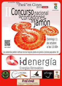 """II Concurso Nacional de Cortadores de Jamón """"Una Pará en Gines"""""""