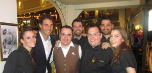 José Sol Spanish Ham Master con Rafa Nadal