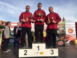 Ganadores III Concurso Nacional de Cortadores de Jamón Ciudad de Sevilla