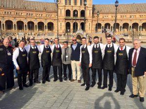 Participantes Concurso Cortadores de Jamón Ciudad de Sevilla
