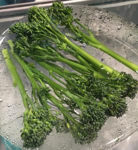 Bimi, una hortaliza fruto de la unión natural entre el brócoli y la col china Kai-lan