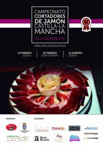 """Campeonato regional de Cortadores de Jamón de Castilla La Mancha """"Villa de Poblete"""""""