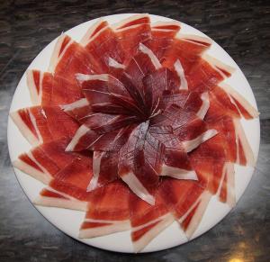 Corte babilla presentación platos Virgilio Sánchez