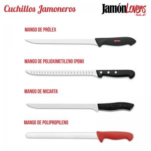 Cuchillos jamoneros tipo de mango
