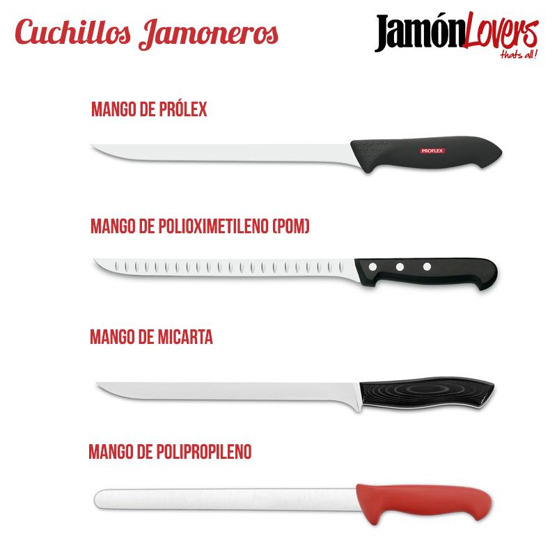 Cuchillos para cortar jamón: Cuchillos jamoneros