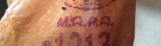 El Sello MAPA en los jamones Ibéricos, el DNI del jamón