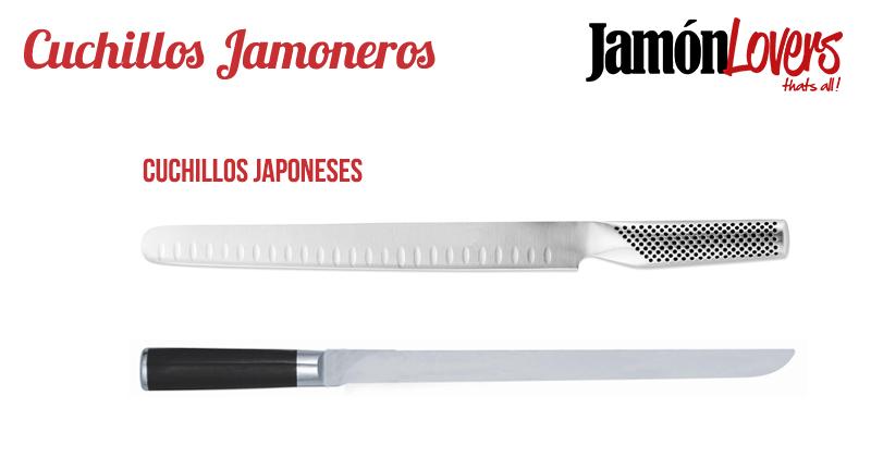 Cuchillos cortar jamón: Cuchillos jamoneros japoneses