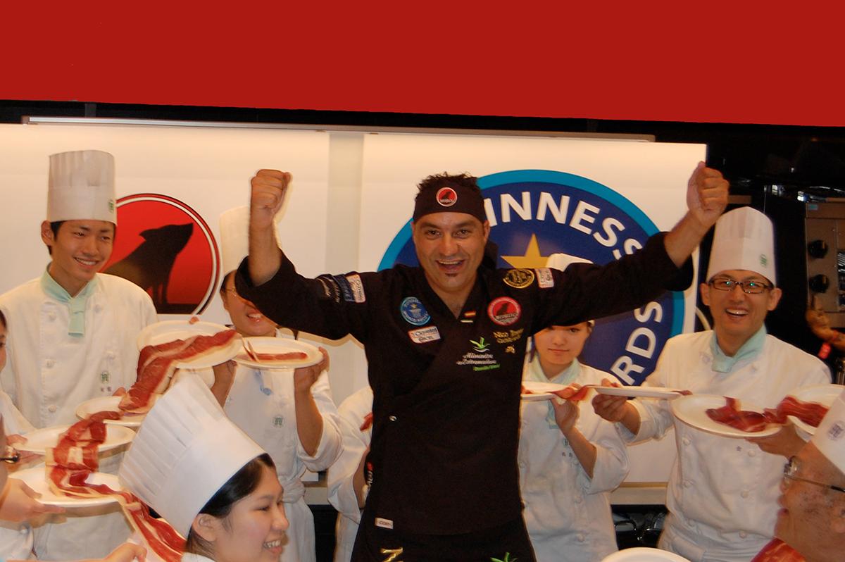 Nico Jimenez II World Record Guinness Tokio