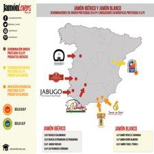 Las Denominaciones de Origen e Indicaciones Geográficas del Jamón