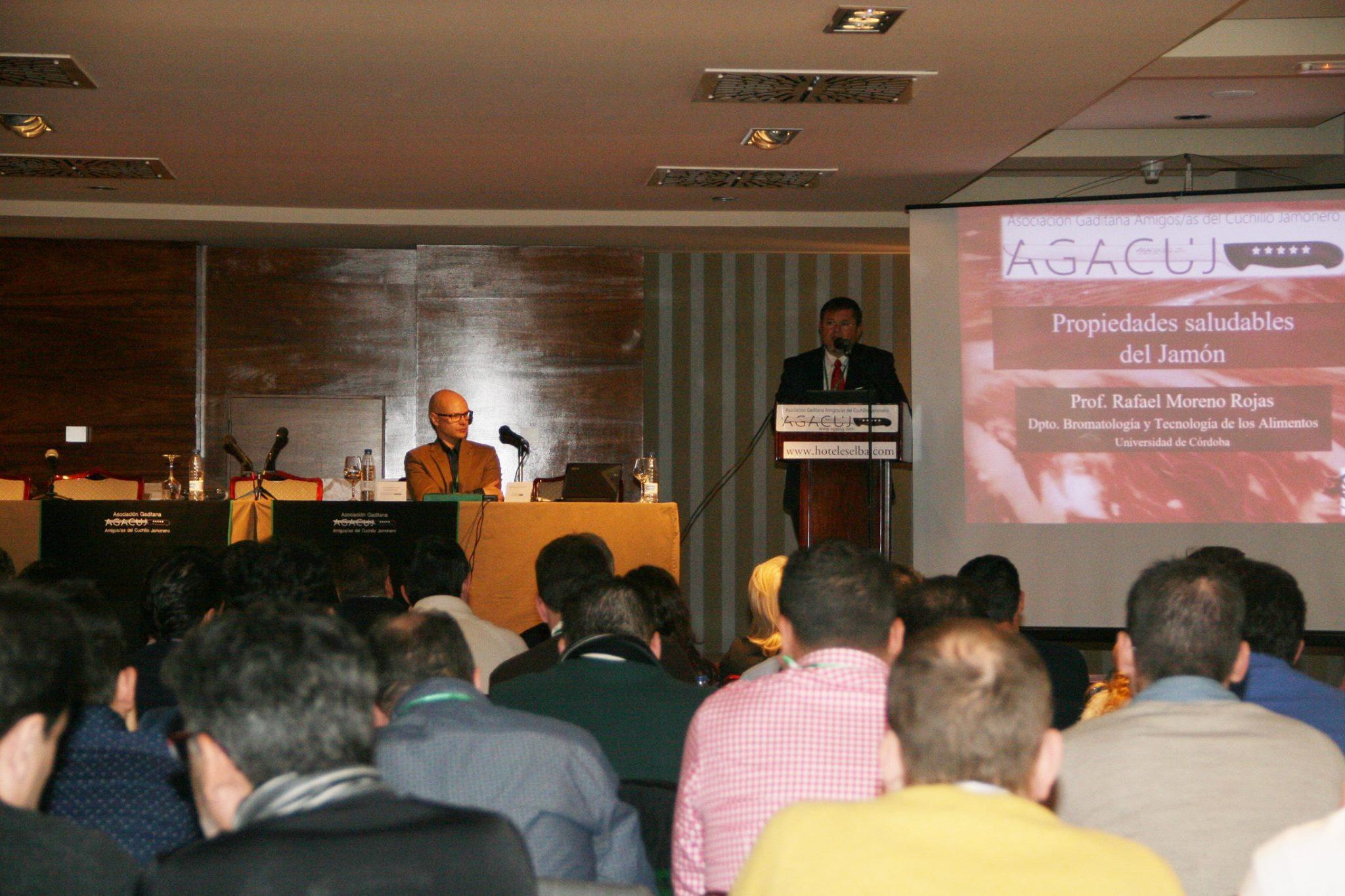 Jornada Formativa sobre el Jamón AGACUJ: Ponencia Rafael Moreno