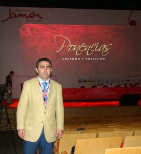 Clemente Gómez Congreso Mundial del Jamón, Huelva 2009