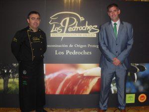 Clemente Gómez y Juan Luis Ortiz (Secretario General D.O.P. Los Pedroches)