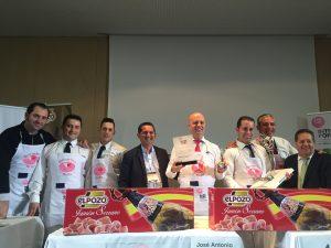 Ganadores Concurso Cortadores de Jamón Alimentaria 2016