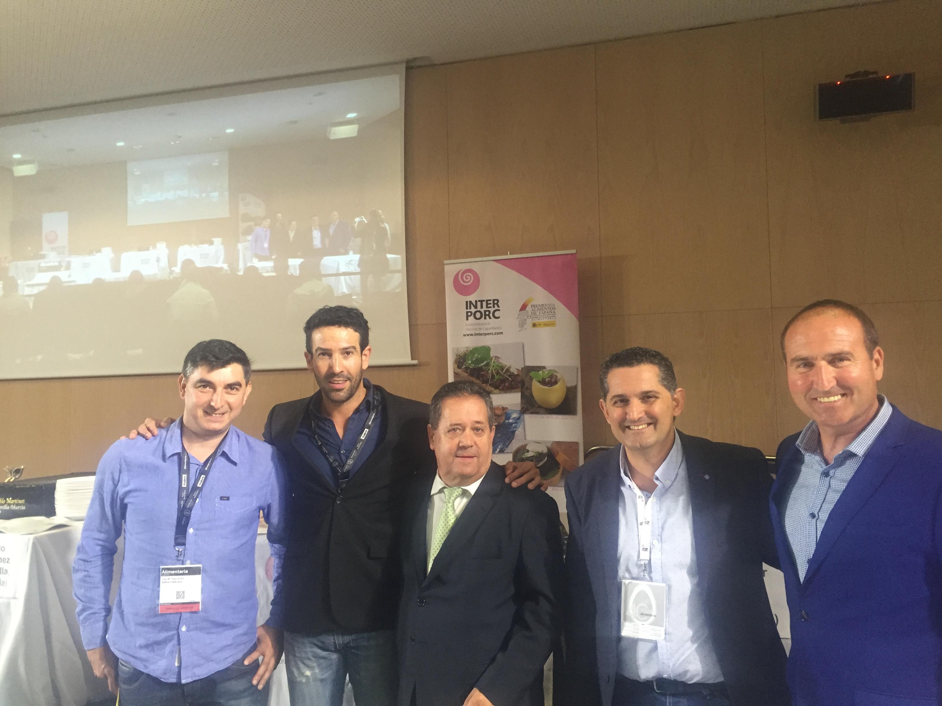 Jurado Concurso Cortadores de Jamón Alimentaria 2016