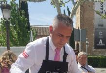 Carlos Muñoz ganador del Concurso de Cortadores de Alcalá de Henares