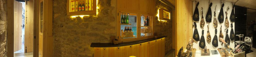 Corte y Burbuja, espacio de Los Finos dedicado al jamón ibérico en Burgos