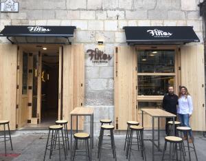 Corte y Burbuja, el espacio de Los Finos dedicado al jamón ibérico en Burgos
