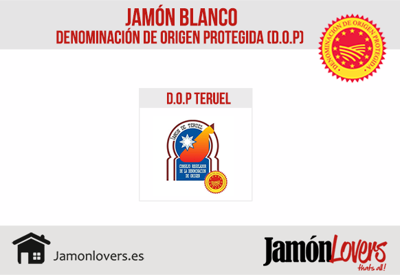 Denominación Origen Protegida Jamón Blanco. DOP Teruel