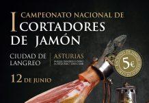 """I concurso nacional cortadores de jamón """"Ciudad de Langreo"""""""