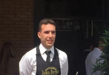 Juan Antonio Pérez ganador del I Certamen Nacional de Cortadores de Jamón Valladolid