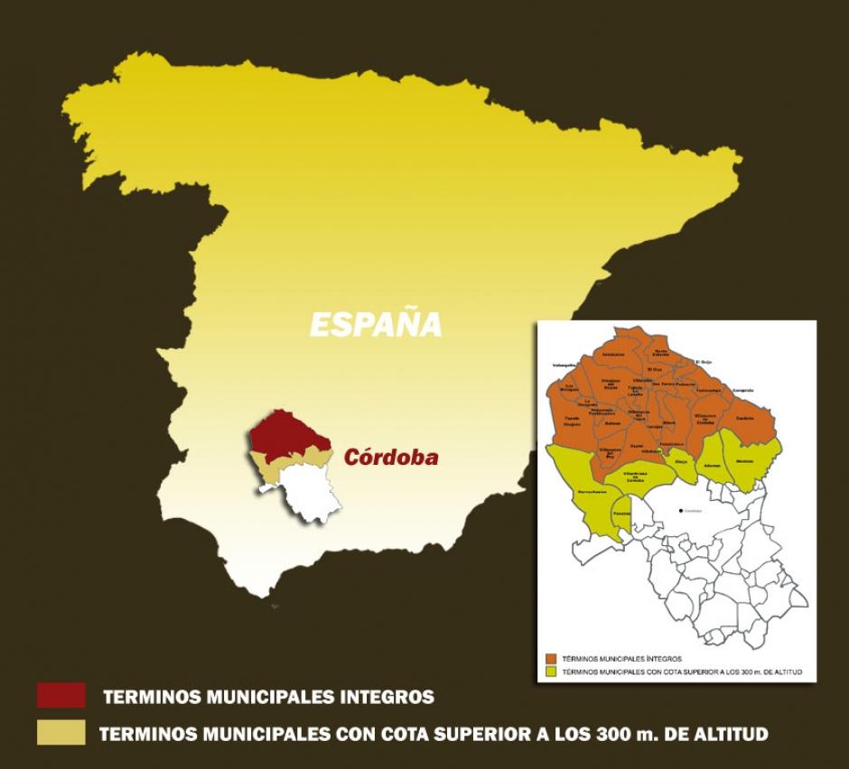 Territorio Denominación de Origen Protegida Los Pedroches
