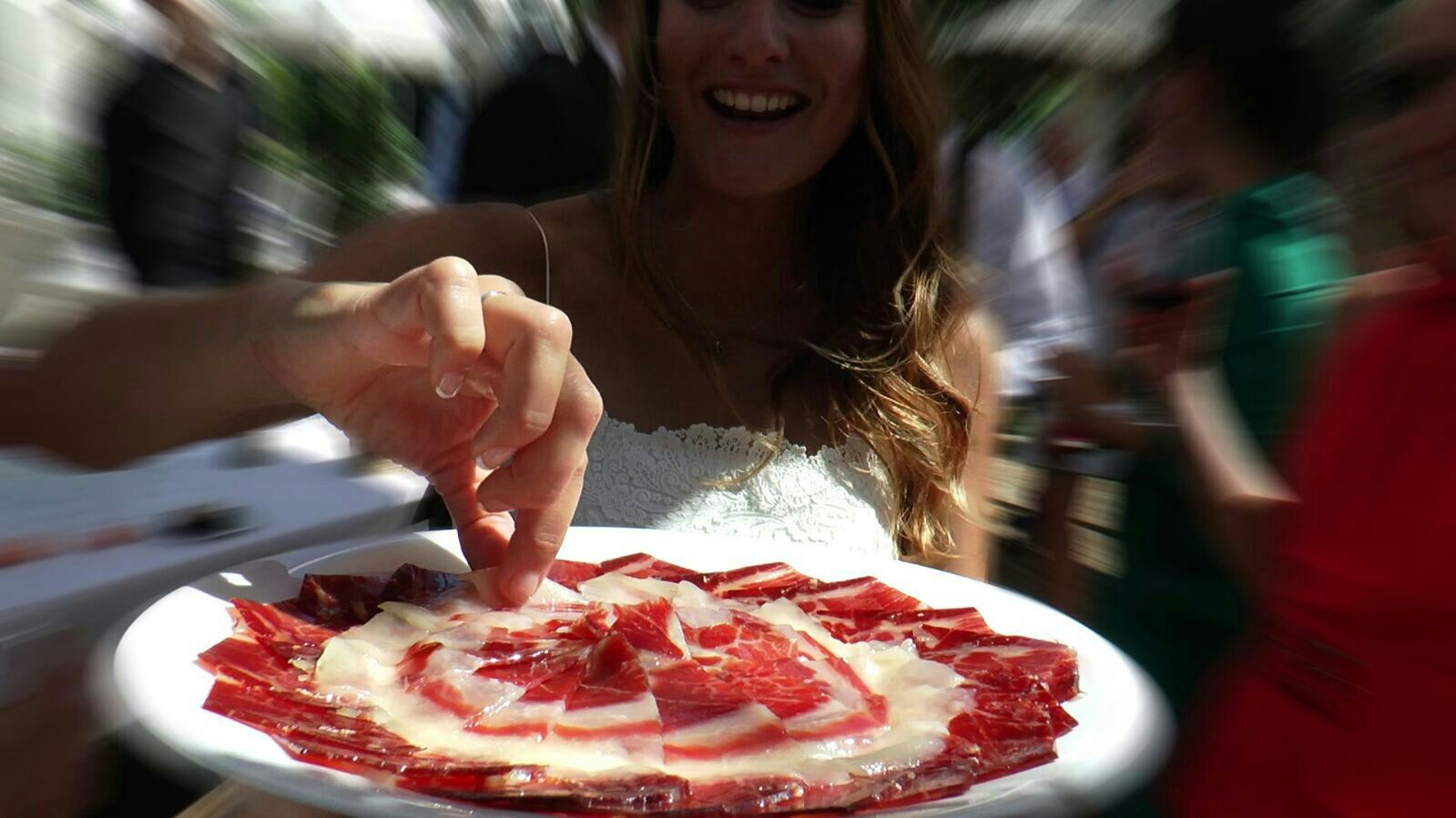 Disfruta del jamón ibérico en tu boda